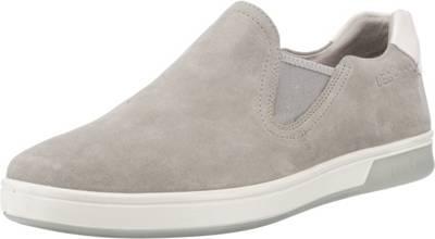 Arno Slip-On-Sneaker, grau, grau Legero