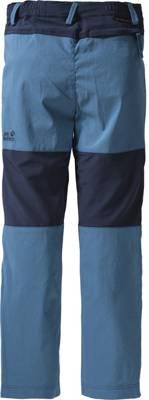 Jack Wolfskin, Kinder Outdoorhose DILLON FLEX, blau   mirapodo