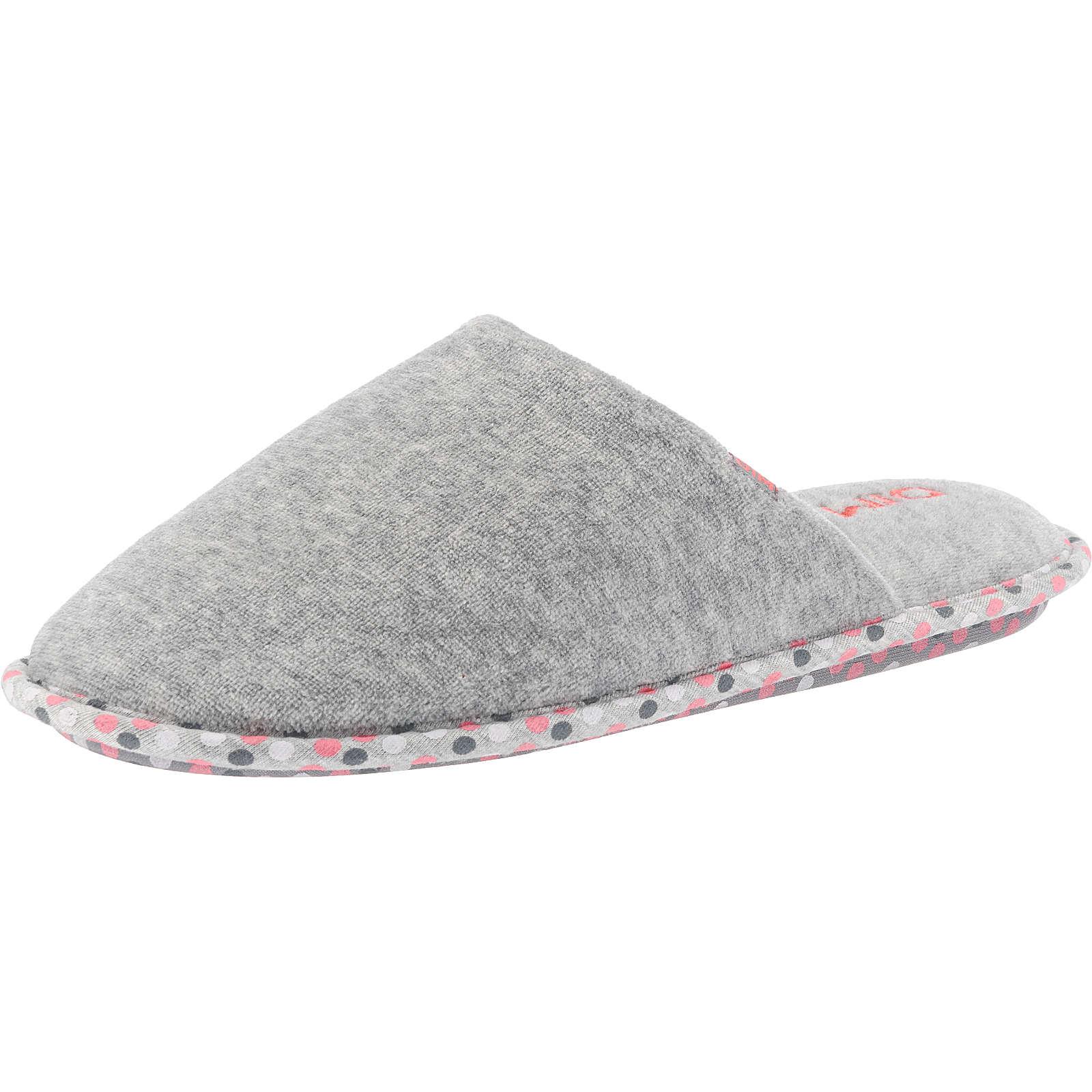 DIM Bader Pantoffeln grau Damen Gr. 36
