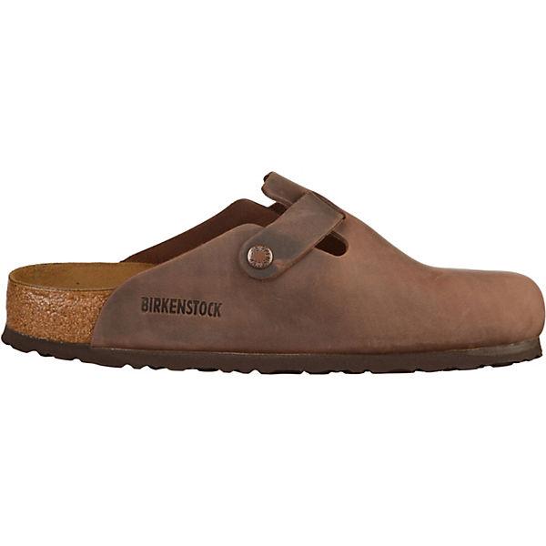 BIRKENSTOCK, Gute Komfort-Pantoletten Boston, dunkelbraun  Gute BIRKENSTOCK, Qualität beliebte Schuhe c7b33d