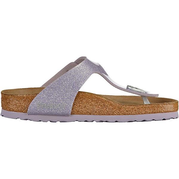 BIRKENSTOCK, Zehentrenner Qualität Gizeh, lila  Gute Qualität Zehentrenner beliebte Schuhe 788d21