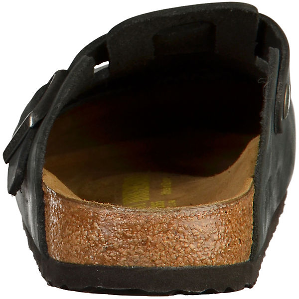BIRKENSTOCK, Komfort-Pantoletten Gute Boston, schwarz  Gute Komfort-Pantoletten Qualität beliebte Schuhe af489a