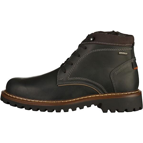 Josef Seibel Schnürstiefel schwarz  Gute Qualität beliebte Schuhe