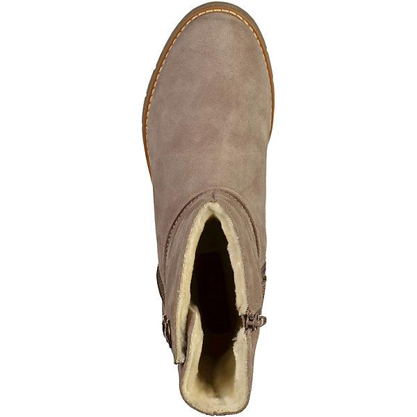 s.Oliver, Schlupfstiefeletten, beliebte beige  Gute Qualität beliebte Schlupfstiefeletten, Schuhe 045cec