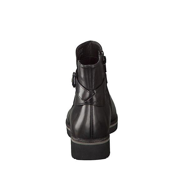 Gabor, Klassische Stiefeletten, schwarz schwarz Stiefeletten,   677d9b