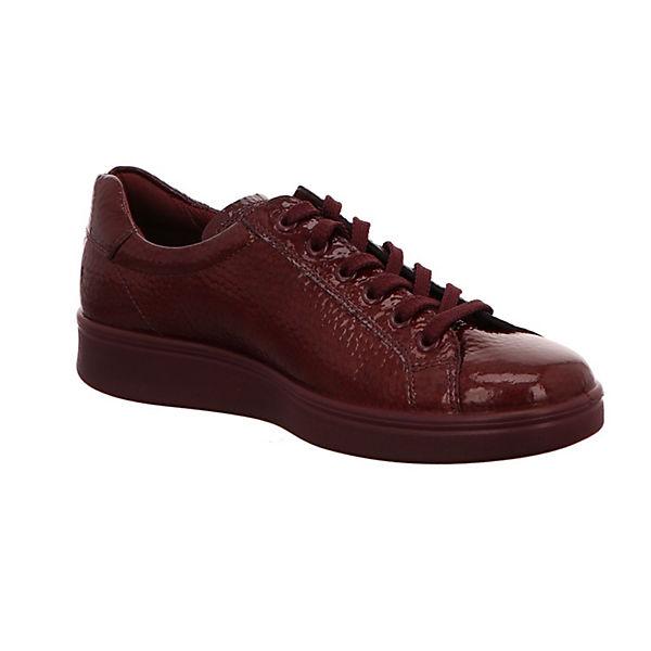 ecco, Sneakers Qualität Low, rot  Gute Qualität Sneakers beliebte Schuhe 540b76