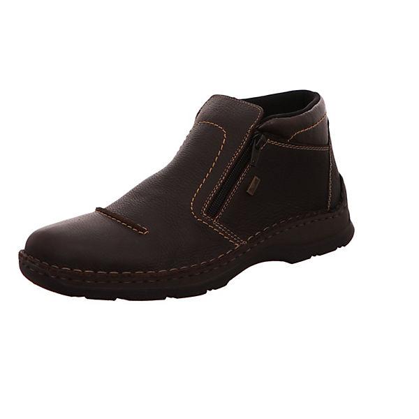 rieker Freizeit Schuhe Halbschuhe dunkel-braun dunkelbraun