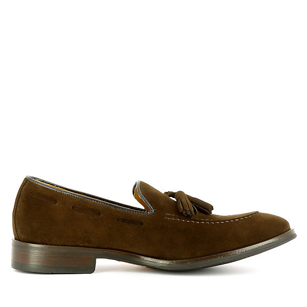 Evita dunkelbraun Loafers Shoes STEFANO STEFANO Evita Shoes Bqx5PwnW7