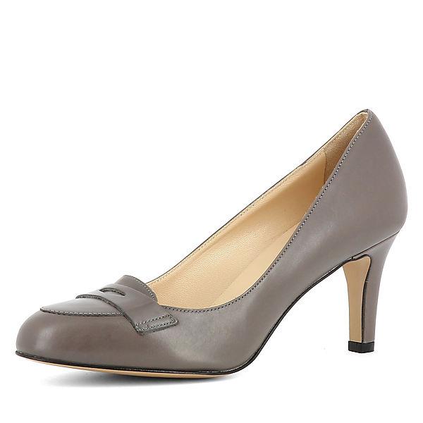 Evita Schuhes, Schuhes, Schuhes, BIANCA Loafer-Pumps, grau  Gute Qualität beliebte Schuhe b778be
