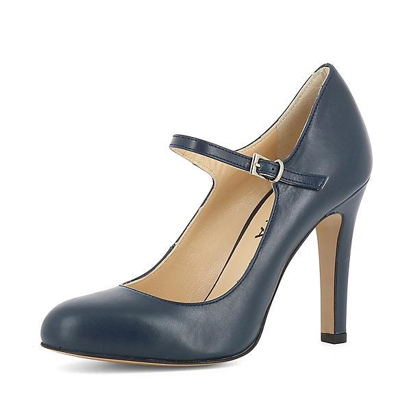 dunkelblau Evita Evita Shoes CRISTINA Spangenpumps CRISTINA Shoes 1qw7wYP
