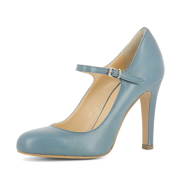 Evita Spangenpumps hellblau Shoes Evita Shoes CRISTINA TqwdR7