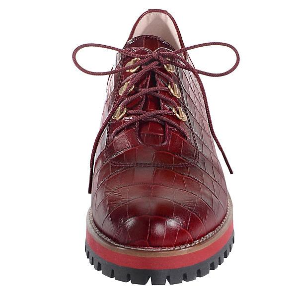 Alba Moda Schnürschuhe bordeaux  Gute Qualität beliebte Schuhe