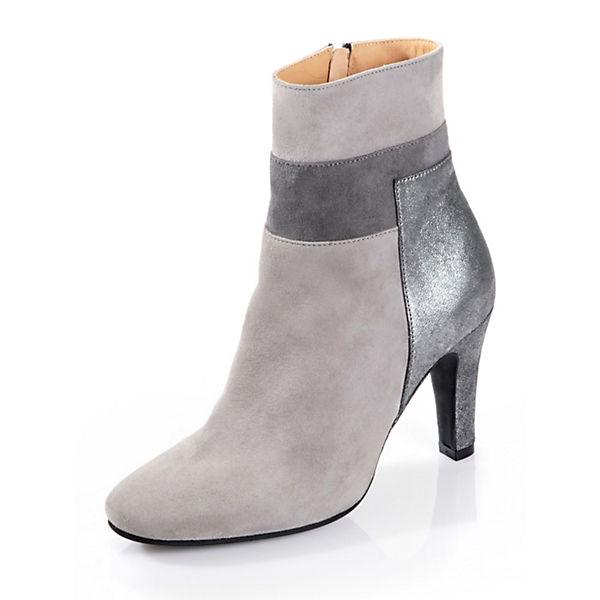 Alba Moda Klassische Stiefeletten grau