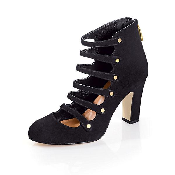 Alba Moda Sommerstiefeletten schwarz