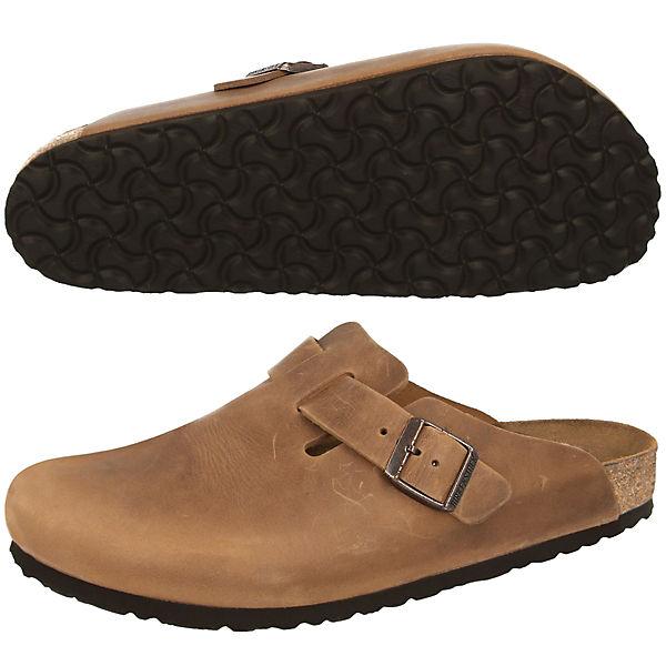 BIRKENSTOCK, Pantoletten Boston, Qualität braun  Gute Qualität Boston, beliebte Schuhe 54e038