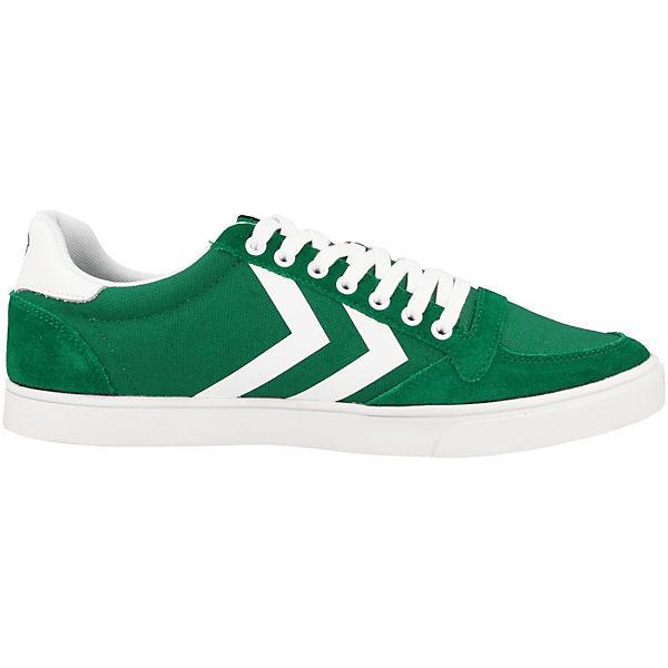 hummel Sneakers Low Slimmer Stadil Waxed grün