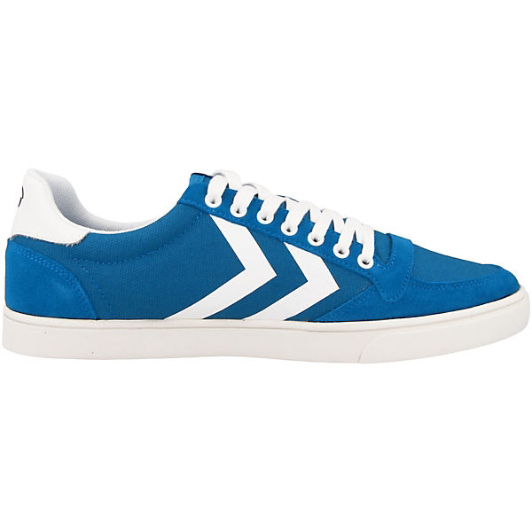 hummel Sneakers Low Slimmer Stadil Waxed blau