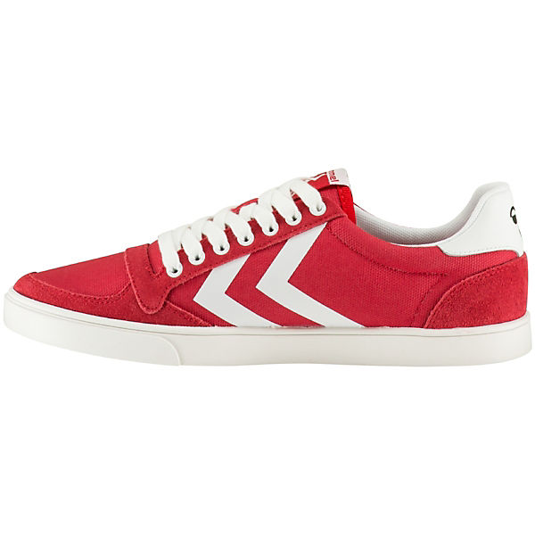 hummel Sneakers Low Slimmer Stadil Waxed rot