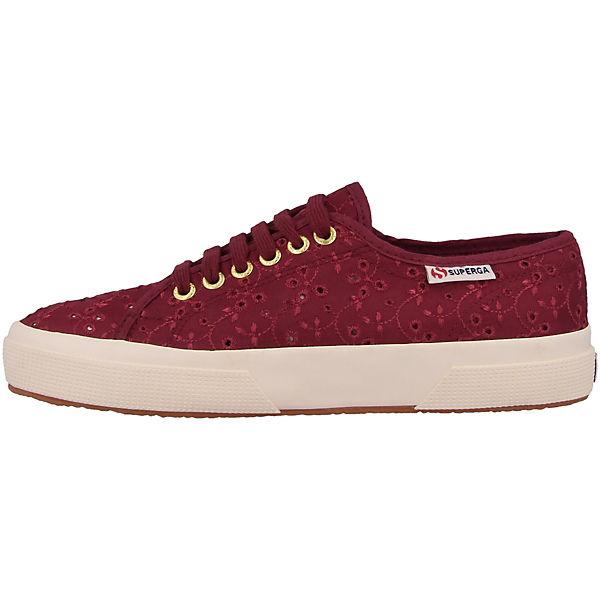 Sangallo Sangallo rot Superga® Low rot Low Sneakers Superga® Sneakers fwxzqvvBd