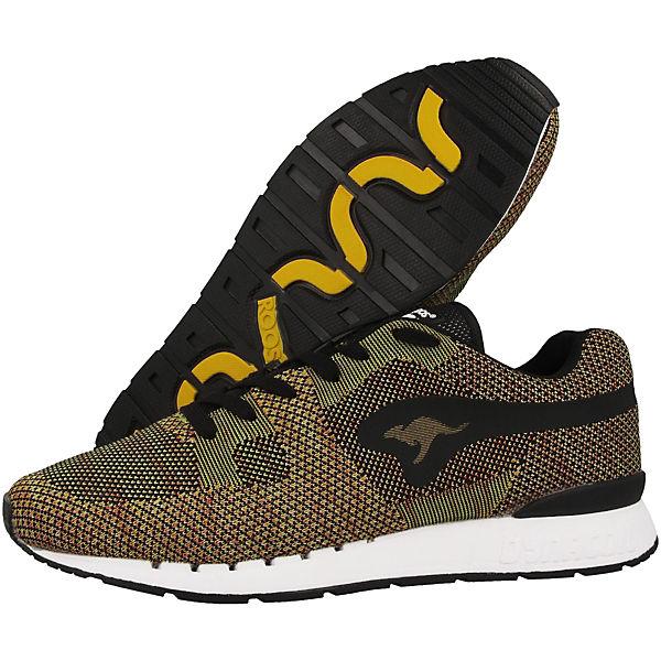 KangaROOS Sneakers Low Coil-R1 Woven mehrfarbig