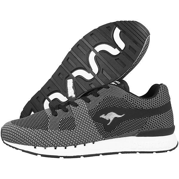 Woven KangaROOS Coil Low Sneakers R1 schwarz qOUpA