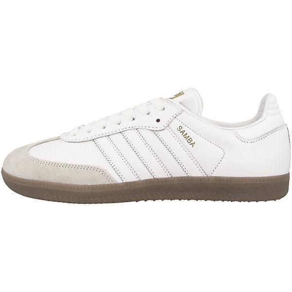 weiß Samba OG Sneakers Originals Low adidas W nqgYZftw