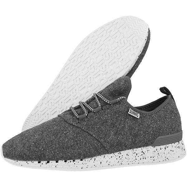 DJINN´S, Sneakers Low  Moc Lau Spots, grau  Low  24e40b