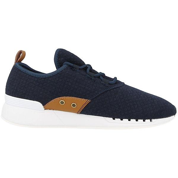 DJINN´S, Sneakers Low Moc Lau Mini Padded, blau    Gute Qualität beliebte Schuhe 144b28
