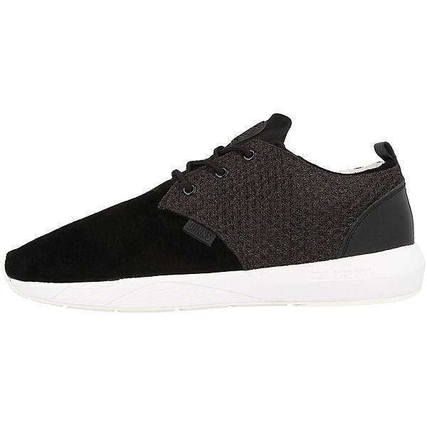 Mesh amp; Sneakers Skin schwarz Run DJINN´S Lau Low wIZn6f