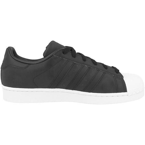 adidas Originals, Superstar, Sneakers Low Superstar, Originals, schwarz   b3c96a