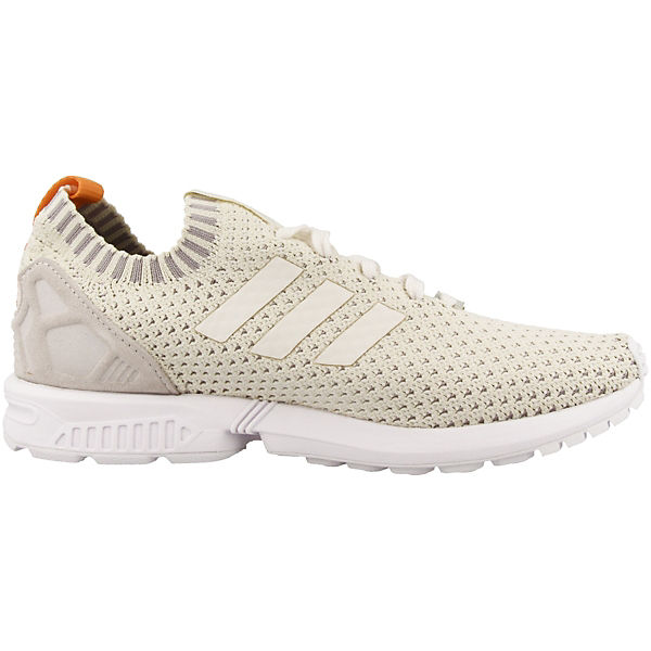 Originals ZX adidas Flux Sneakers creme Low Primeknit 1q8f78