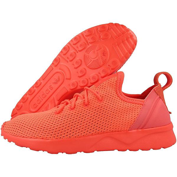 adidas Originals Sneakers Low ZX Flux ADV Virtue Sock orange