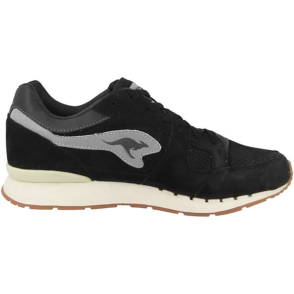 schwarz Coil R1 Nubuck Low KangaROOS Sneakers g7CwqxOO