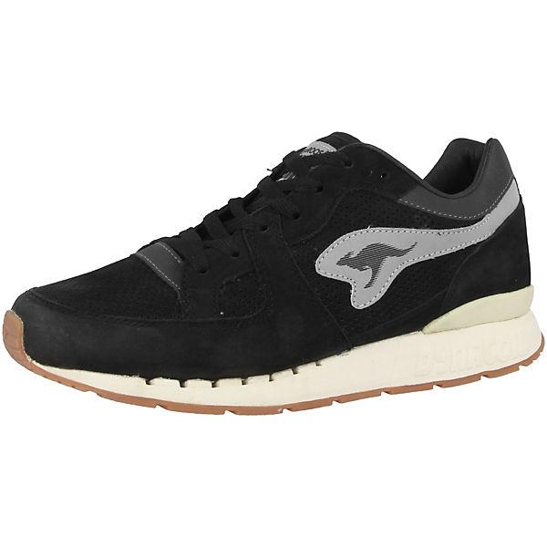 Low Nubuck Coil schwarz KangaROOS Sneakers R1 vnpqF7