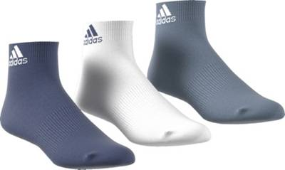 adidas Performance, 3er Pack Socken, blauweiß