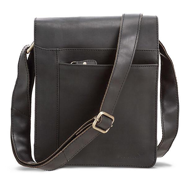 Packenger Businesstasche Olaf (Leder) schwarz