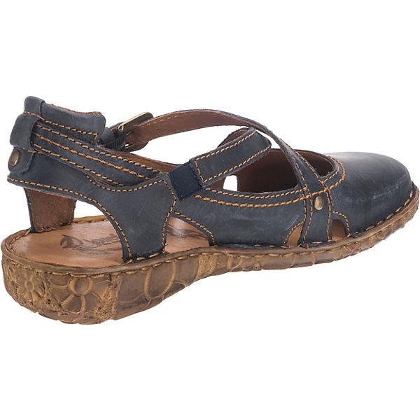 Josef Seibel Rosalie 13 Riemchensandalen blau  Gute Gute  Qualität beliebte Schuhe c47276