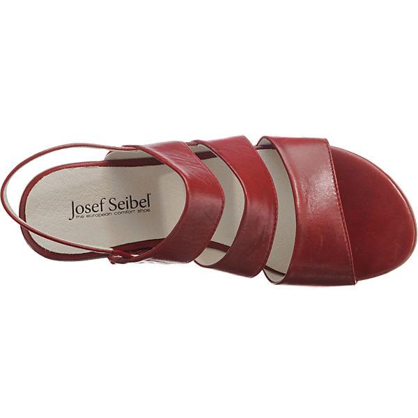 Riemchensandalen Seibel Josef Fabia 11 rot w7qAt