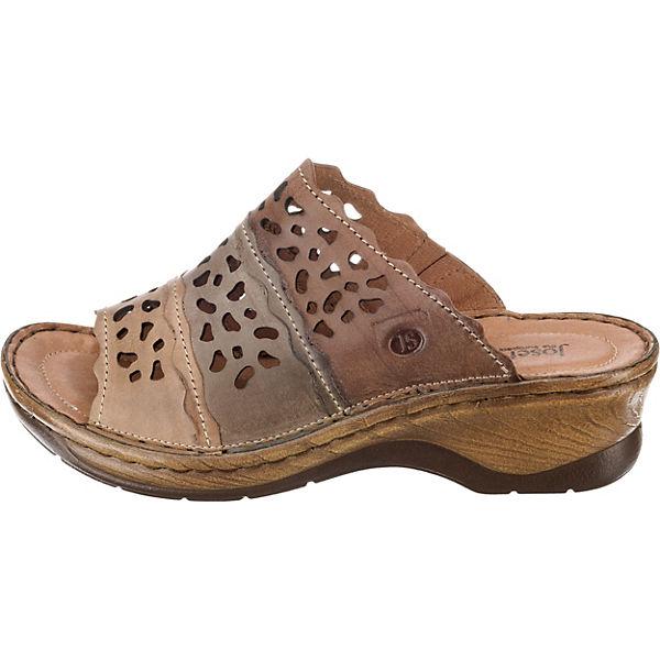Josef Seibel, Catalonia Qualität 60 Pantoletten, braun  Gute Qualität Catalonia beliebte Schuhe 46be2d
