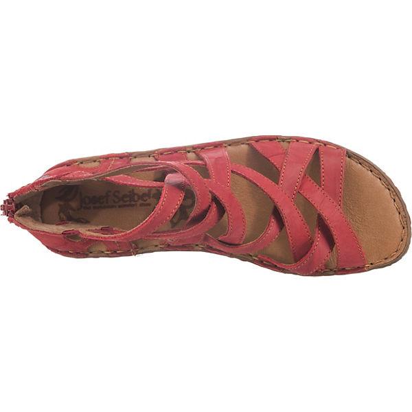 Josef Seibel Rosalie 17 Riemchensandalen Riemchensandalen Riemchensandalen rot  Gute Qualität beliebte Schuhe a39945