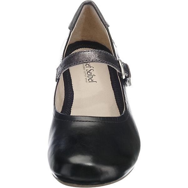 Josef Seibel, Fiona Qualität 25 Riemchenballerinas, schwarz  Gute Qualität Fiona beliebte Schuhe 506104