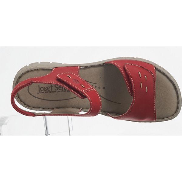 Josef Seibel, Gute Stefanie 21 Klassische Sandalen, rot  Gute Seibel, Qualität beliebte Schuhe 2e21db