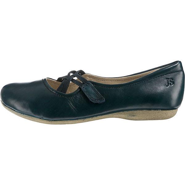 Josef blau Seibel Fiona 39 Riemchenballerinas blau Josef  Gute Qualität beliebte Schuhe a7fc36