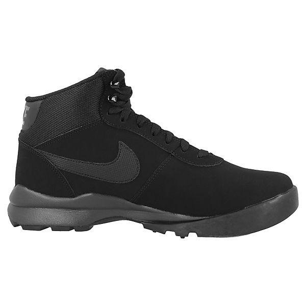 Boots Suede High Sportswear schwarz Nike Hoodland Sneakers UnwtcxWF
