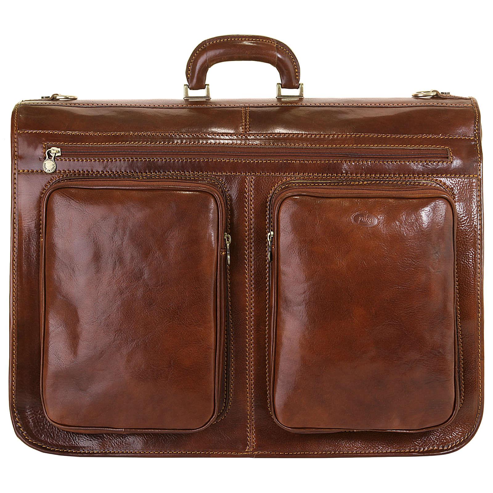 piké Kleidersack Reisetaschen braun Herren