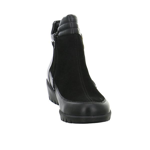 Stiefeletten schwarz schwarz WALDLÄUFER Klassische Klassische Stiefeletten WALDLÄUFER WALDLÄUFER Klassische ZwqxUfB1