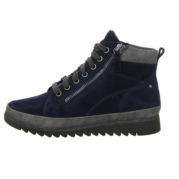 Jana, Schnürschuhe, blau Qualität  Gute Qualität blau beliebte Schuhe 53860e