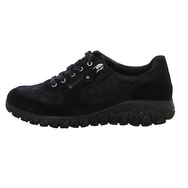 WALDLÄUFER, Schnürschuhe, schwarz  Gute Qualität beliebte Schuhe