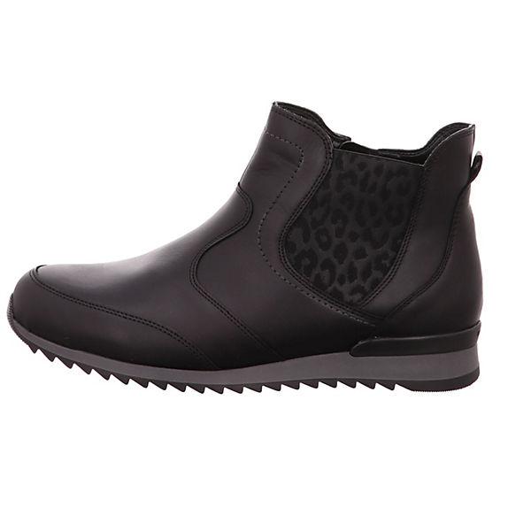 WALDLÄUFER Chelsea Boots schwarz