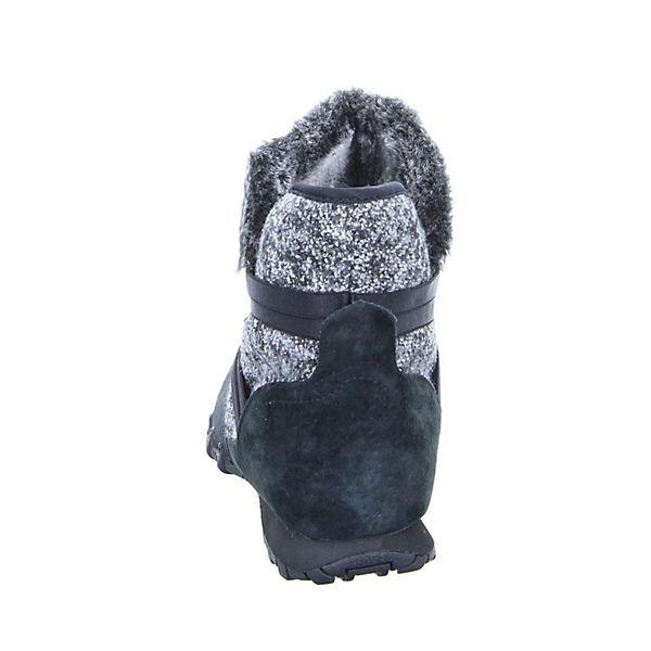 SKECHERS 49409 BLK Schlupfstiefeletten schwarz